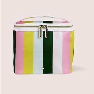 Kate Spade Lunch Tote in Multi Stripe NWT Canvas